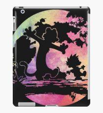 walking on the trees iPad Case/Skin