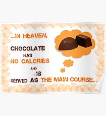 INTO Chocolate Poster