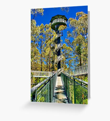 """""""The Only Way Is Up From Where I Stand"""" Greeting Card"""