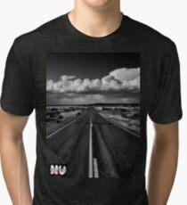 Never Let The Journey End...... Tri-blend T-Shirt