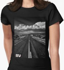 Never Let The Journey End...... Women's Fitted T-Shirt
