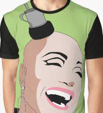 Ongina Pop Art Illustration Graphic T-Shirt