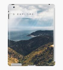 Lets Explore the World iPad Case/Skin
