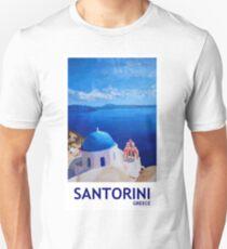 Santorini, Greece - View from Oia Unisex T-Shirt