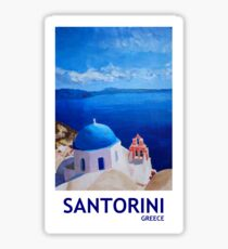 Santorini, Greece - View from Oia Sticker