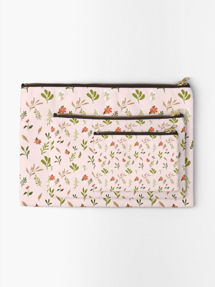 Alternative Ansicht von Großmütter-Garten-Muster Täschchen