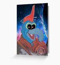 Gonzo Yondu Greeting Card