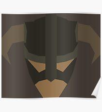 Skyrim Face Polygonal Design Poster