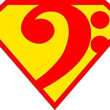 SuperBass by spirituart