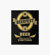 The Perfect Solution - BEER Art Board