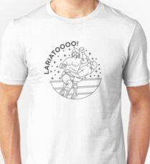 Lariatoooo! Black Slim Fit T-Shirt