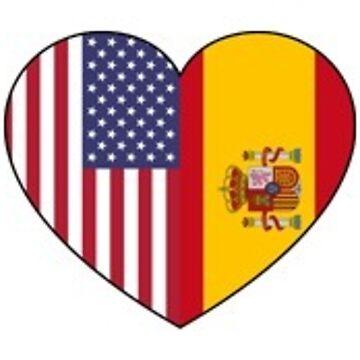 Tiny USA & Spain by schembri211