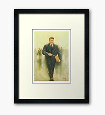 Jock Stein Framed Print