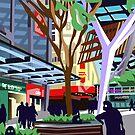 Queen St Mall, Brisbane (Version 1) by GaffaUK