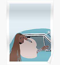 Beyonce Formation Lemonade Blue Print Poster