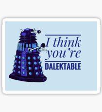 Doctor Who Dalek Valentine Sticker