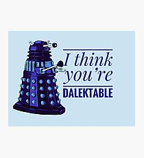 Doctor Who Dalek Valentine Photographic Print