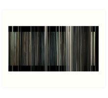 Interstellar (6000 bars) Art Print