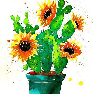 sunflowers by katyska