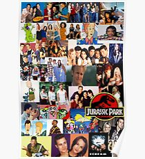 90's Nostalgia Poster