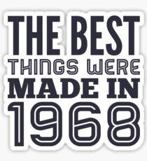 Things in 1968 Sticker