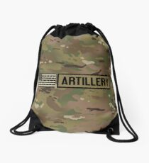 Military: Artillery Drawstring Bag