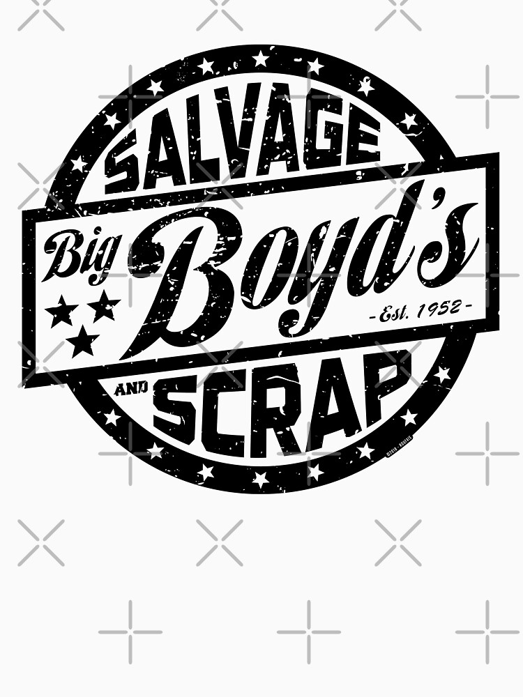 Boyds Salvage and Scrap (worn) [Roufxis - RB] by RoufXis