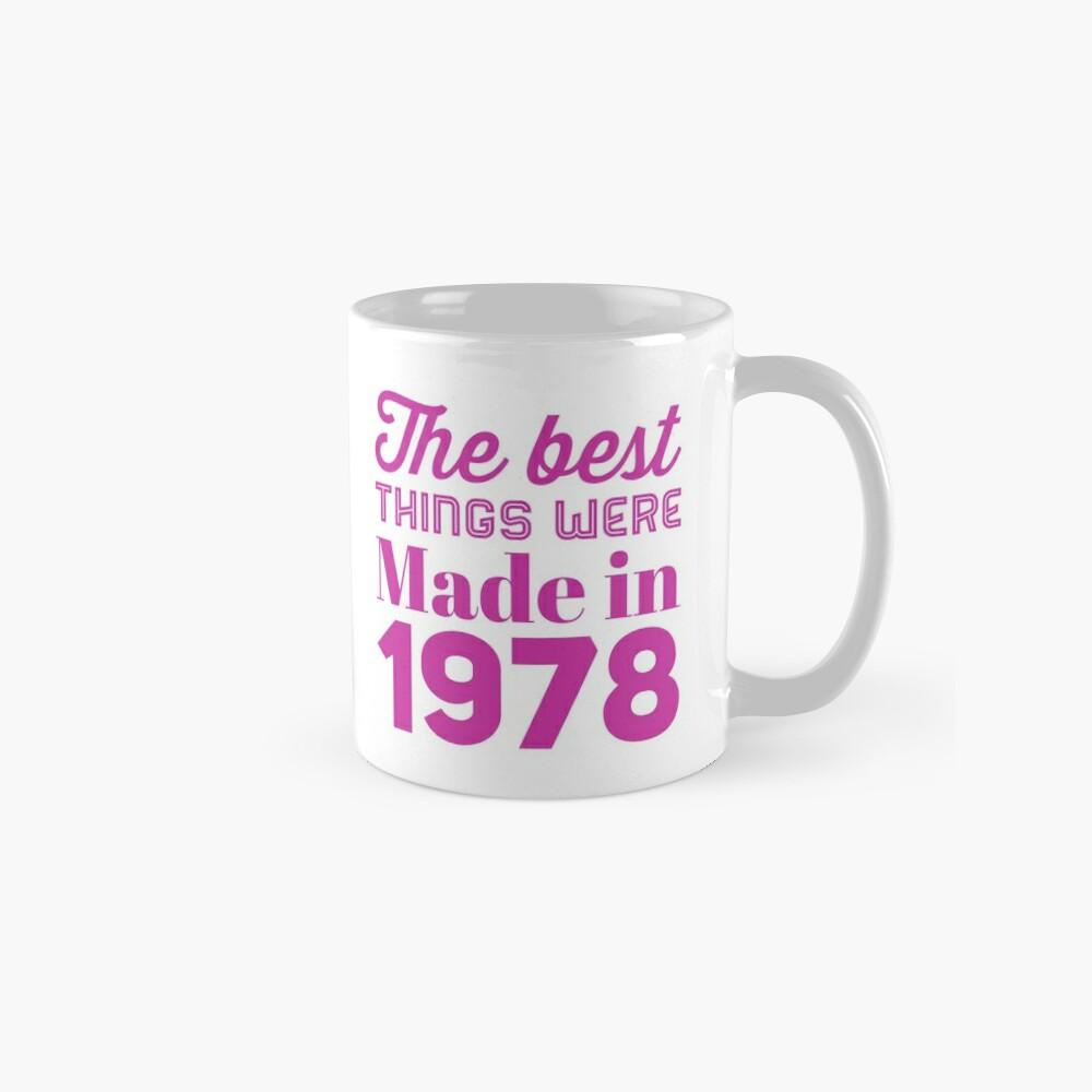 Made in 1978 Mugs