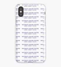 Whitbury New Town Leisure Centre iPhone Case/Skin