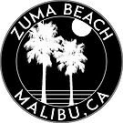ZUMA BEACH MALIBU CALIFORNIA SURFING SURF SURFER BOOGIE BOARD OCEAN WAVES by MyHandmadeSigns
