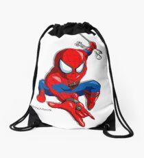 Spider Hero Drawstring Bag