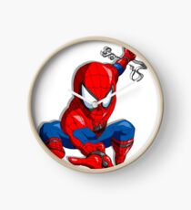 Spider Hero Clock