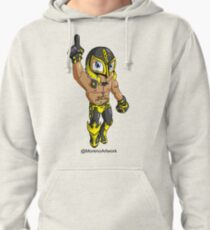 Mystery Luchador  Pullover Hoodie