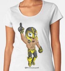 Mystery Luchador  Women's Premium T-Shirt