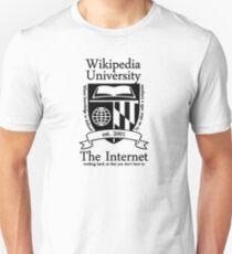 Wikipedia University Unisex T-Shirt