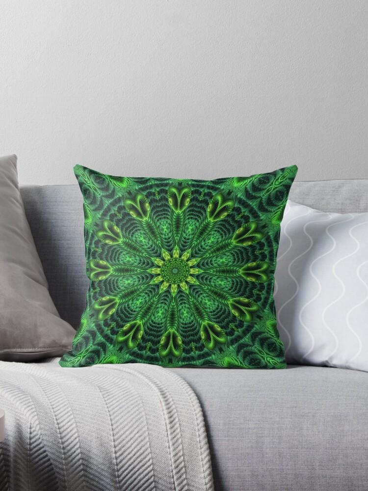 A Green Kaleidoscope by Lyle Hatch