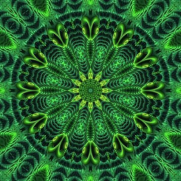 A Green Kaleidoscope by lyle58