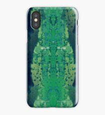 Binky Textured Print in Greens iPhone Case
