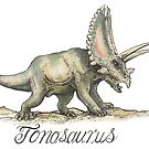 Torosaurus by SnakeArtist
