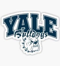 Yale Bulldog's Sticker