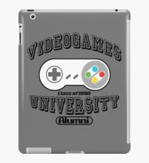 Videogames university iPad Case/Skin