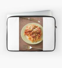 Chicken Parmesan with Linguine Laptop Sleeve