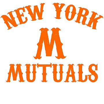 NEW YORK MUTUALS VINTAGE BASEBALL TEAM 1800S by Motion45