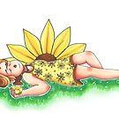Flower girl by WeepyKing