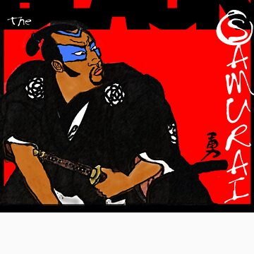 Black Samurai by yoarashi