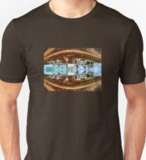 Thrown Stadium Art T-Shirt