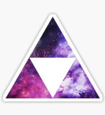 Legend Of Zelda - Triforce Space Sticker