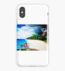 Link's Awakening Washed Ashore  iPhone Case