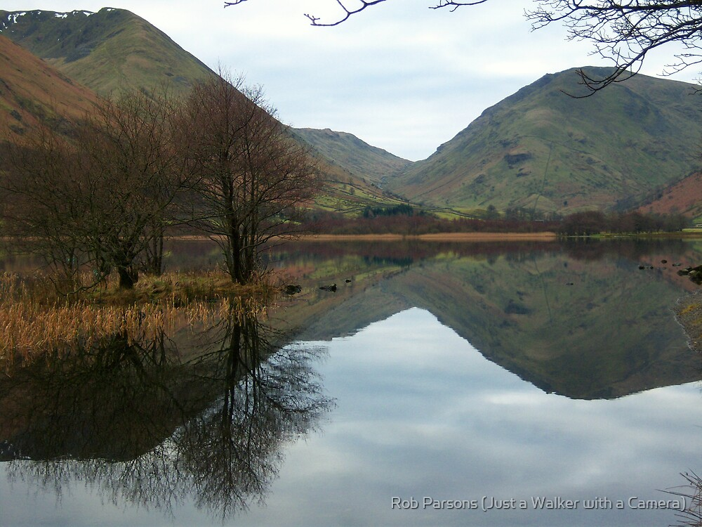 The Lake District: Brothers Water reflections. by Rob Parsons