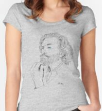 Timothy Omundson Women's Fitted Scoop T-Shirt